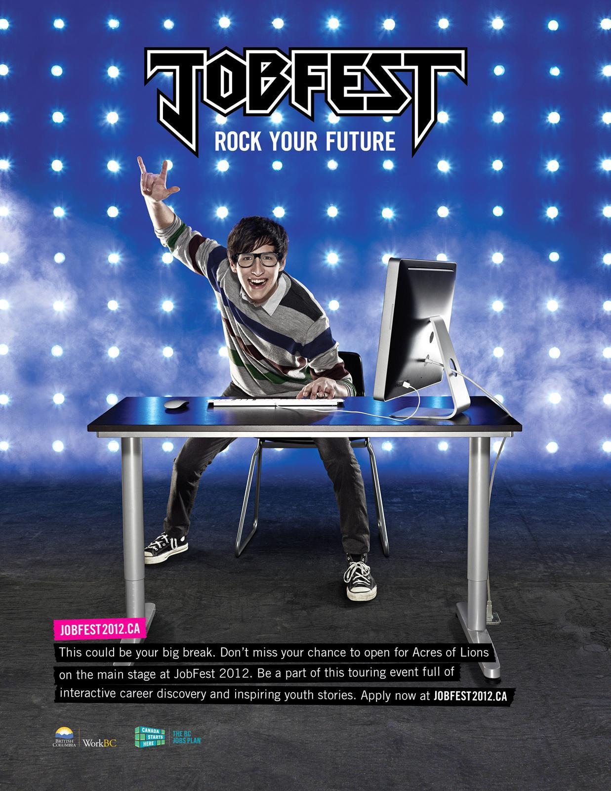 Jobfest Print Ad -  Software designer