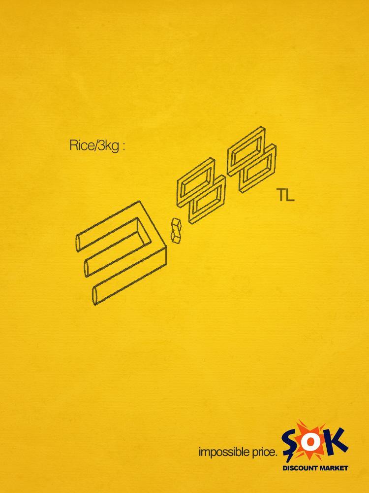 SOK Print Ad -  Impossible Price, 2