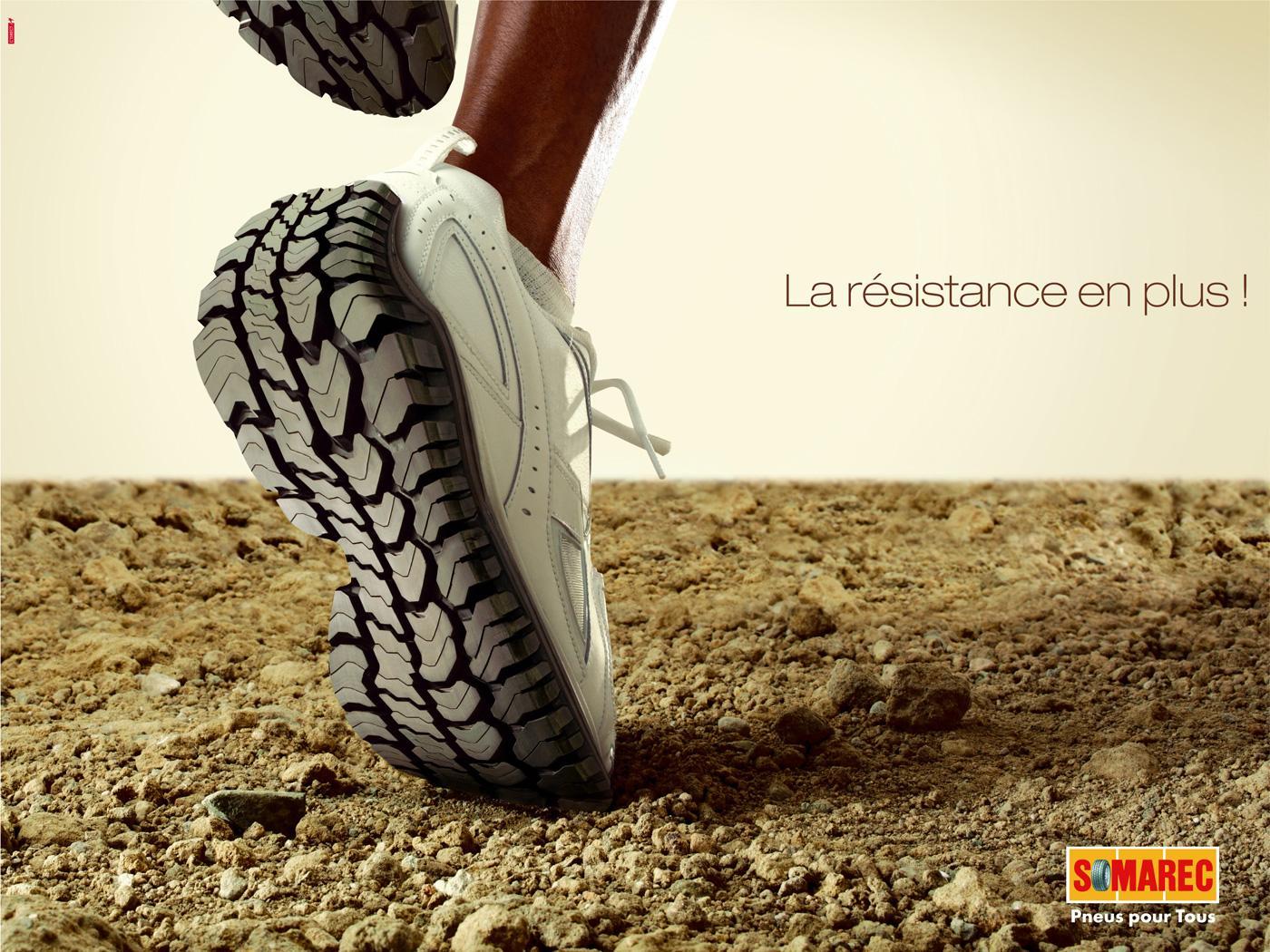 Somarec Print Ad -  Shoes