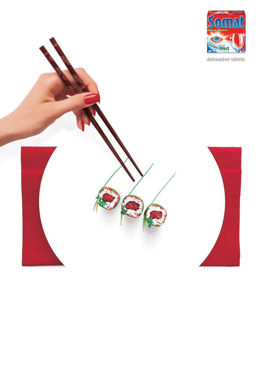 Somat Print Ad -  Sushi