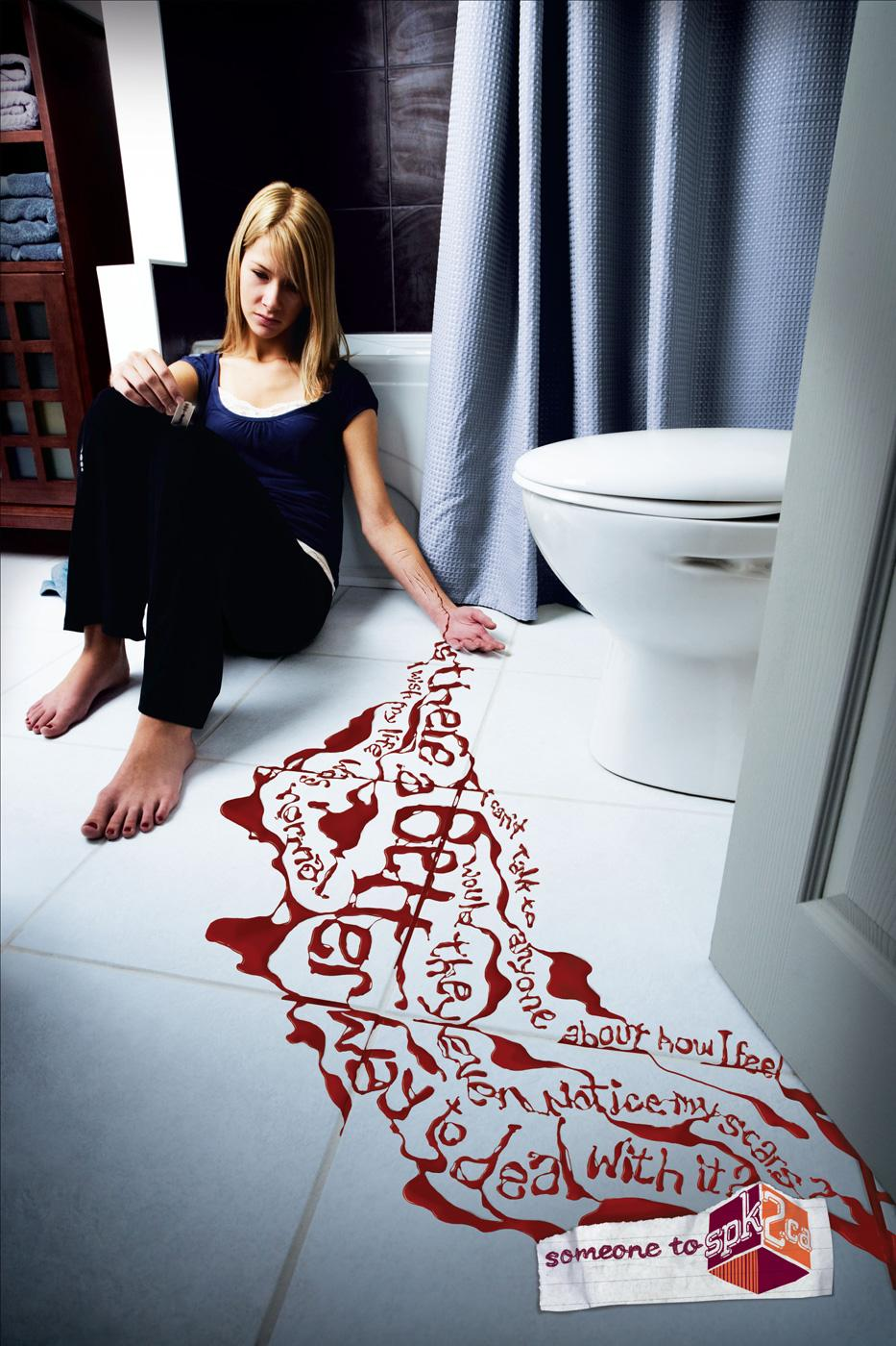 YouthSPK Print Ad -  Blood