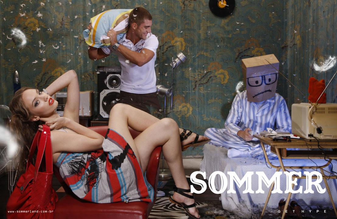 Sommer Print Ad -  Paper bags, 2