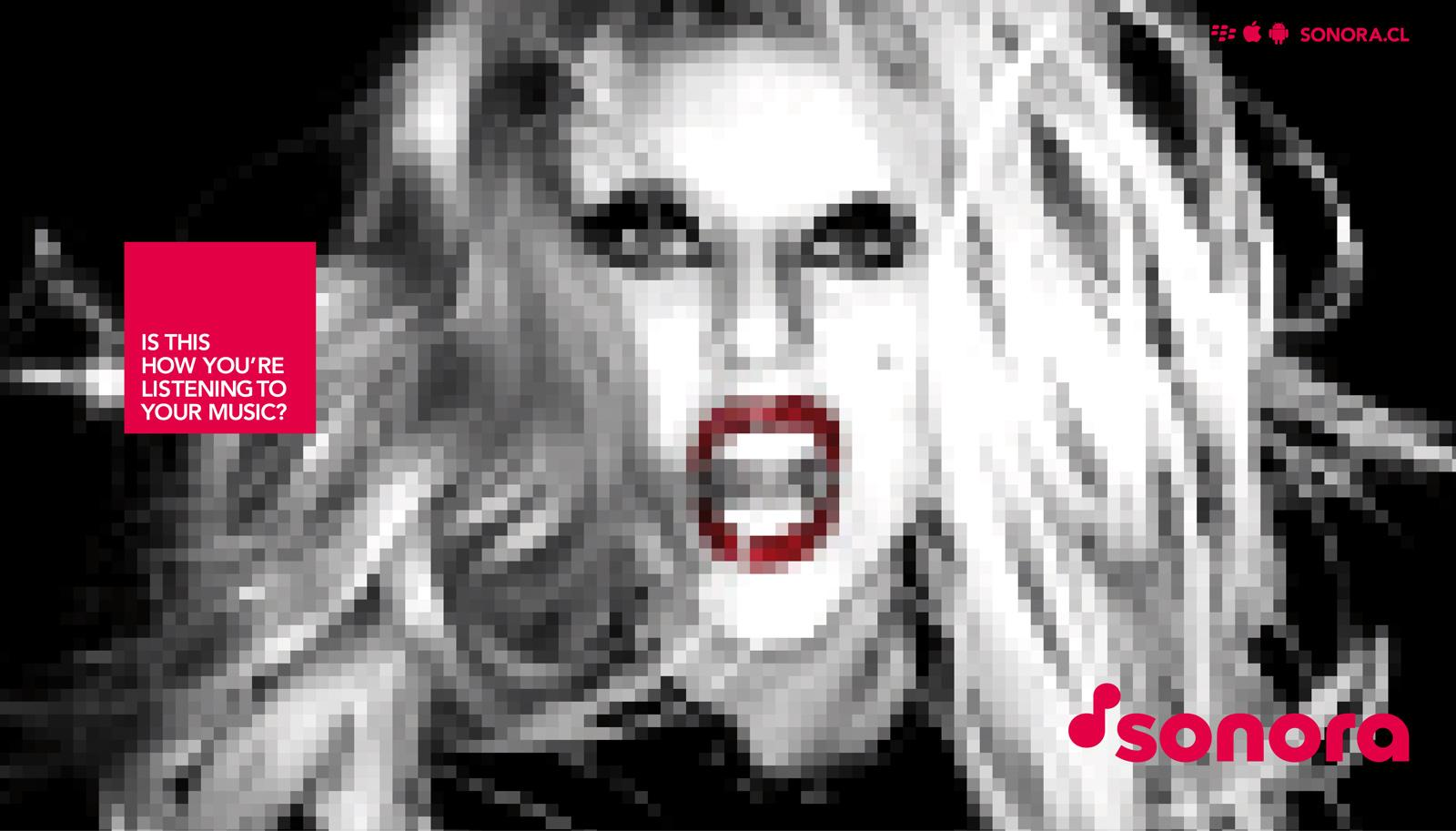 Sonora Print Ad -  Gaga