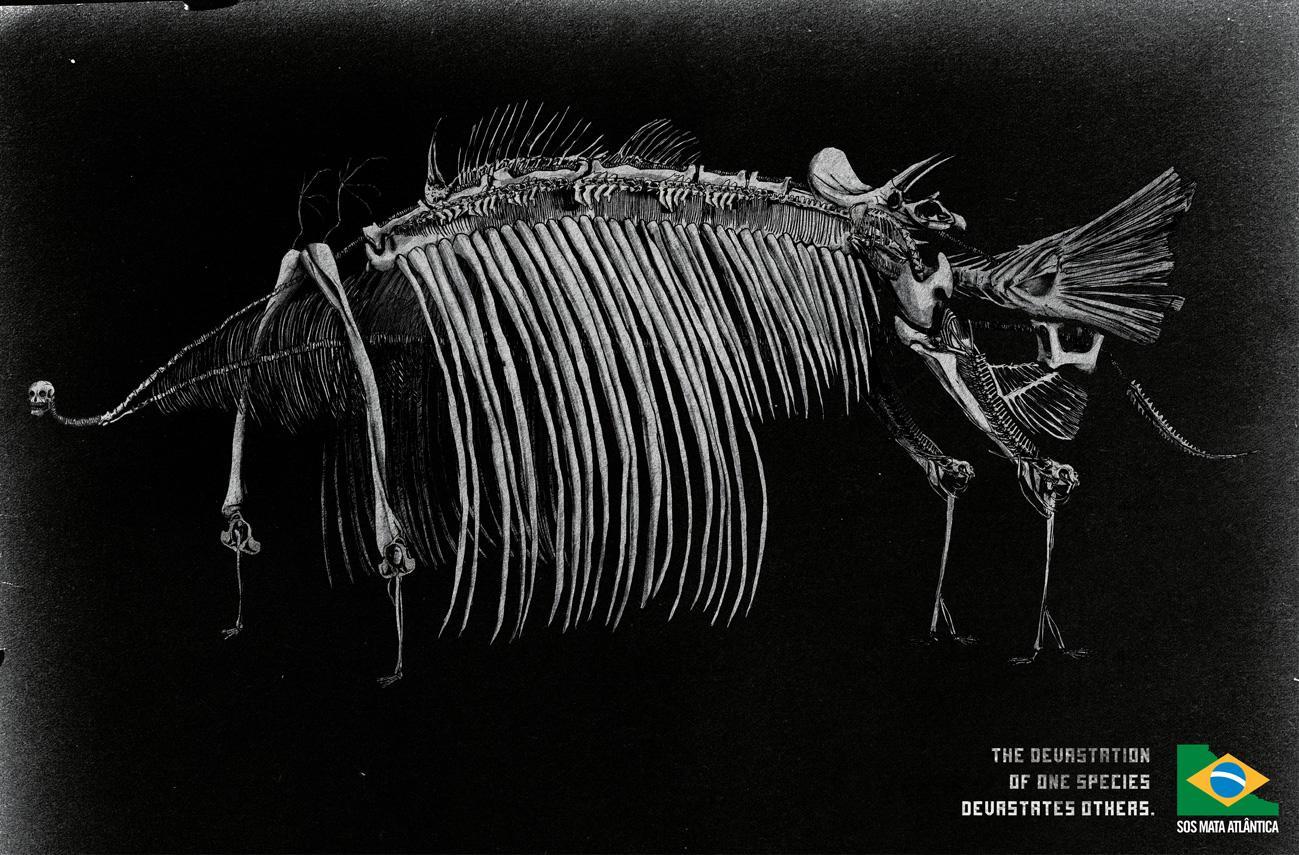 SOS Mata Atlântica Print Ad -  Skeleton, 2