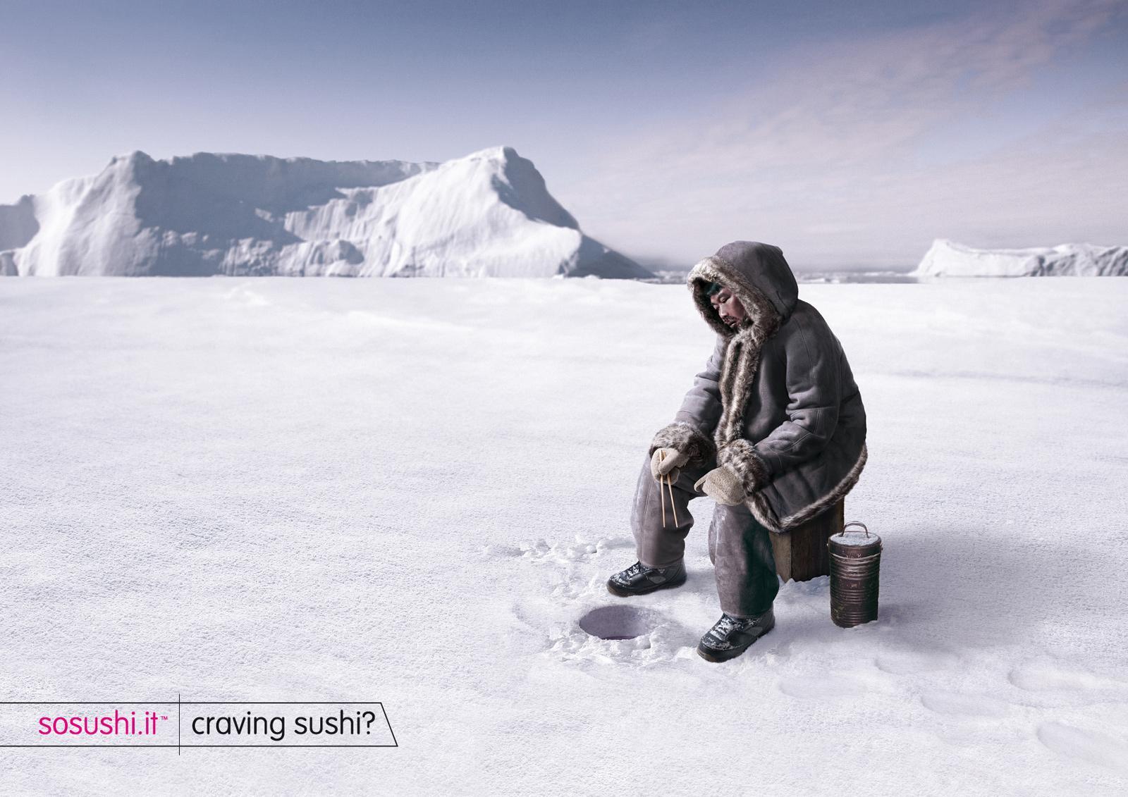 Sosushi Print Ad -  Eskimo