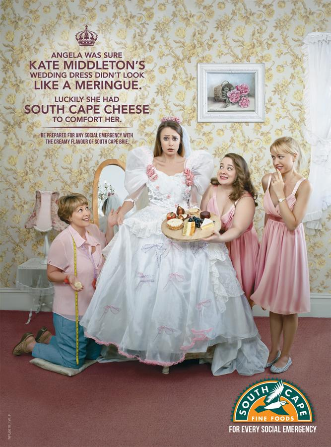 South Cape Print Ad -  Wedding Dress