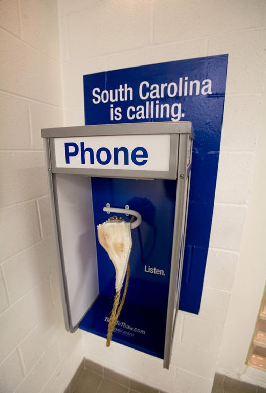 South Carolina Tourism Ambient Ad -  Shell
