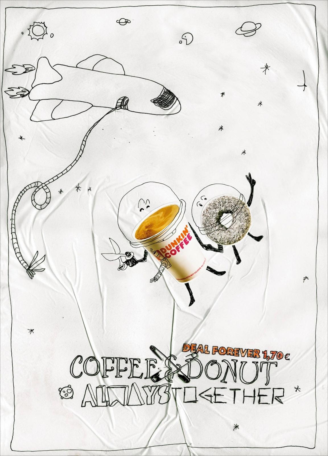 Dunkin' Donuts Print Ad -  Space