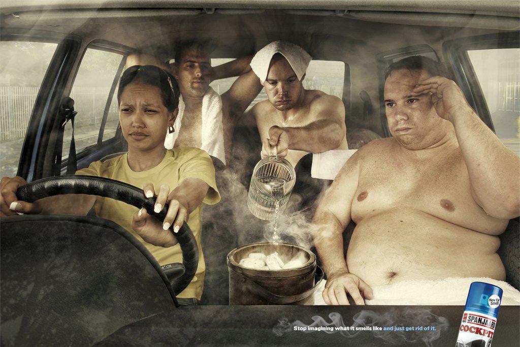 Spanjaard Print Ad -  Sweat