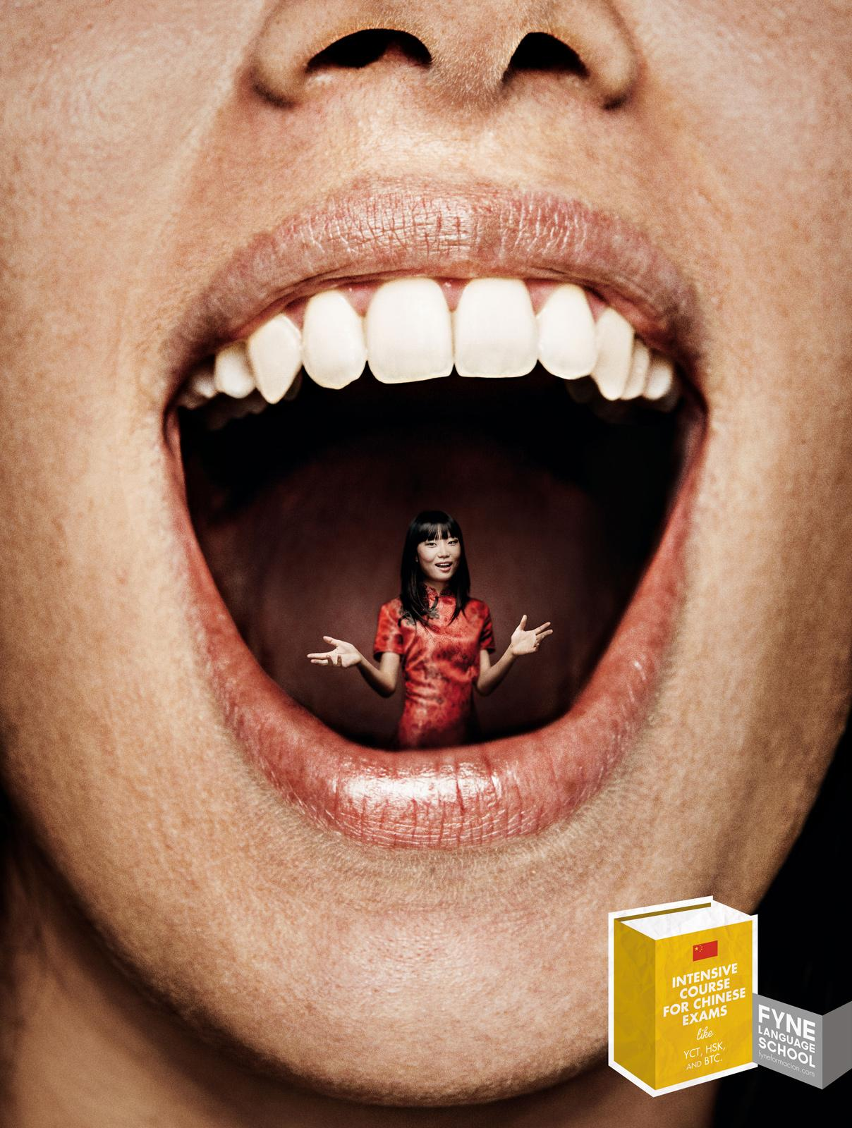 FYNE Print Ad -  Speak Fluent Chinese