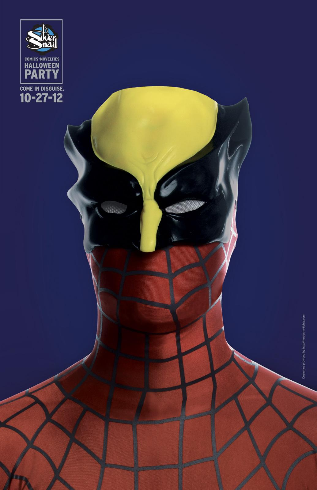 Silver Snail Print Ad -  Spiderine