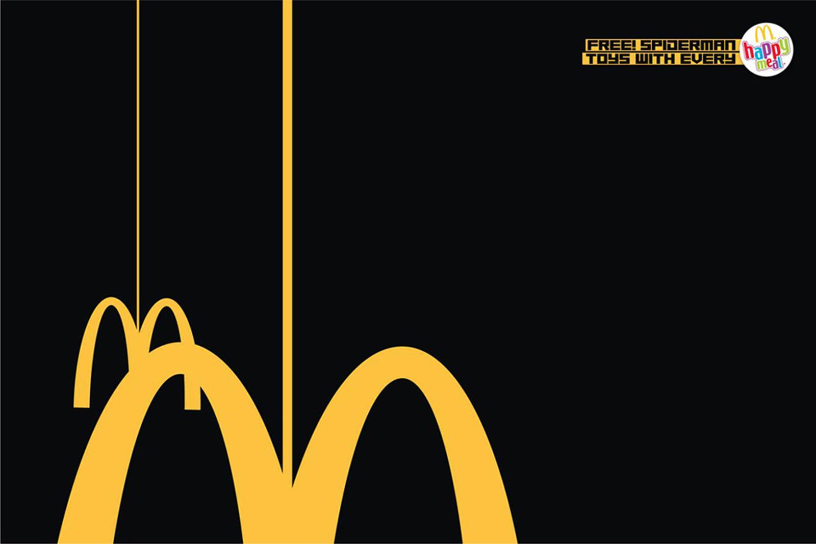 McDonald's Print Ad -  Spiderman