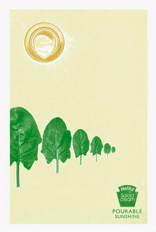 Pourable Sunshine, Spinach
