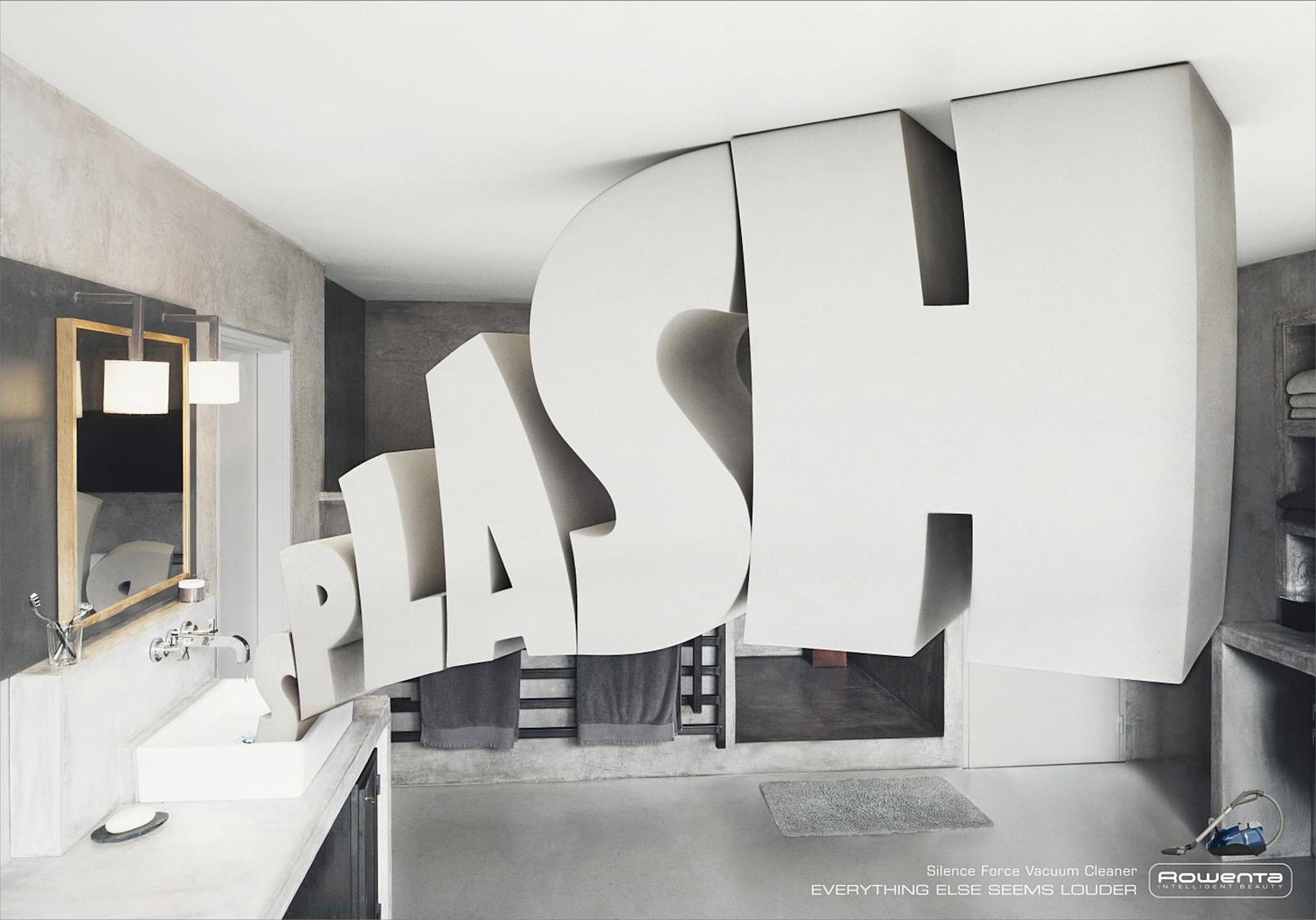 Rowenta Print Ad -  Splash