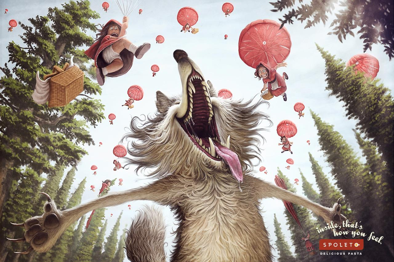 Spoleto Print Ad -  Bad Wolf