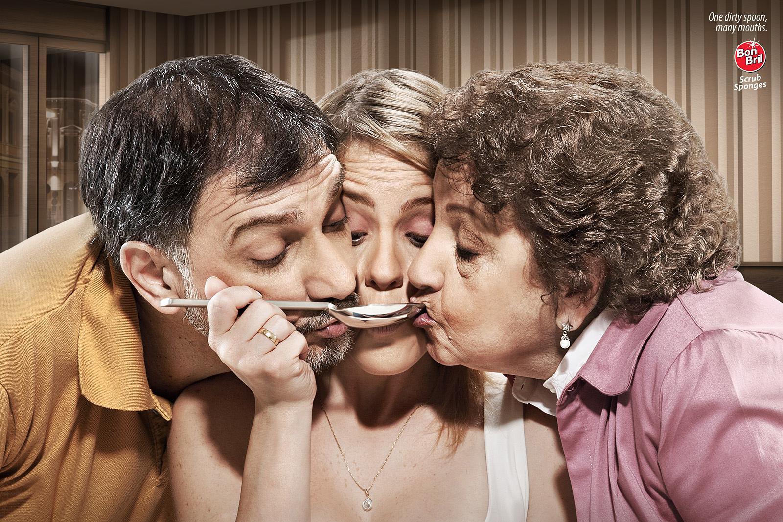 Bon Bril Print Ad -  Spoon