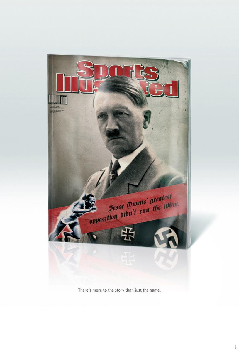 Sports Illustrated Print Ad -  Adolf