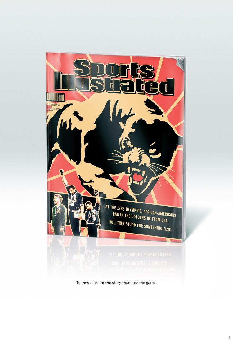 Sports Illustrated Print Ad -  Olympics