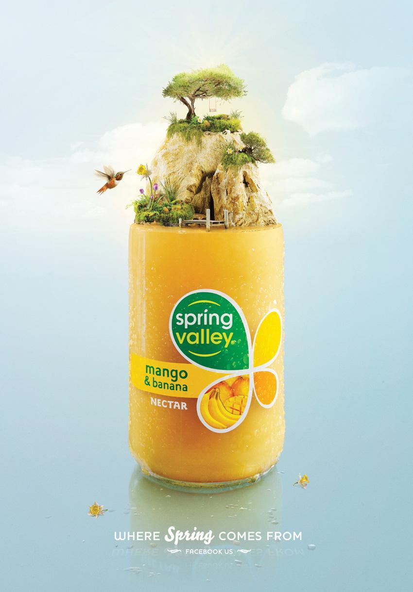 Spring Valley Print Ad -  Mango