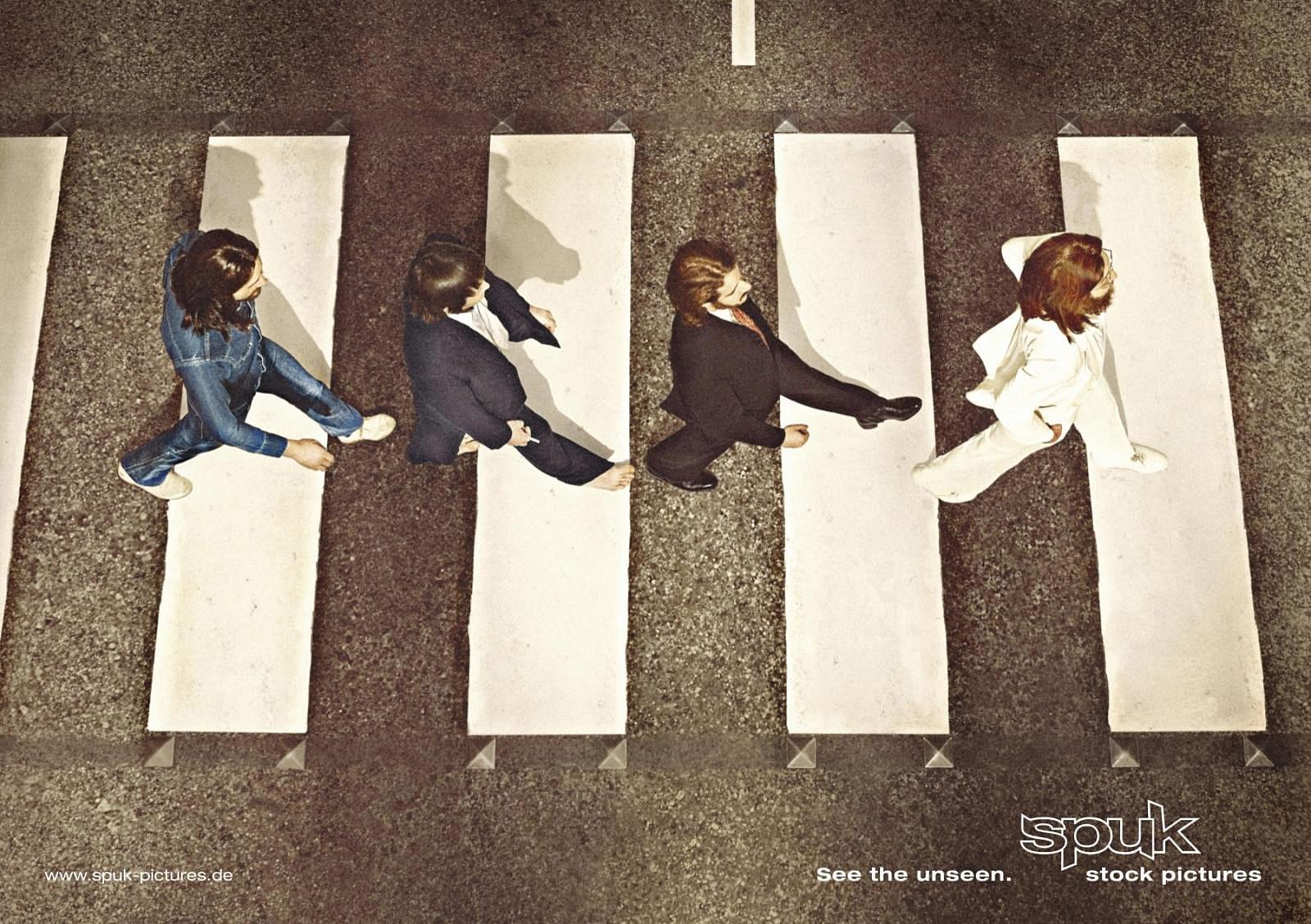 Spuk Print Ad -  Beatles