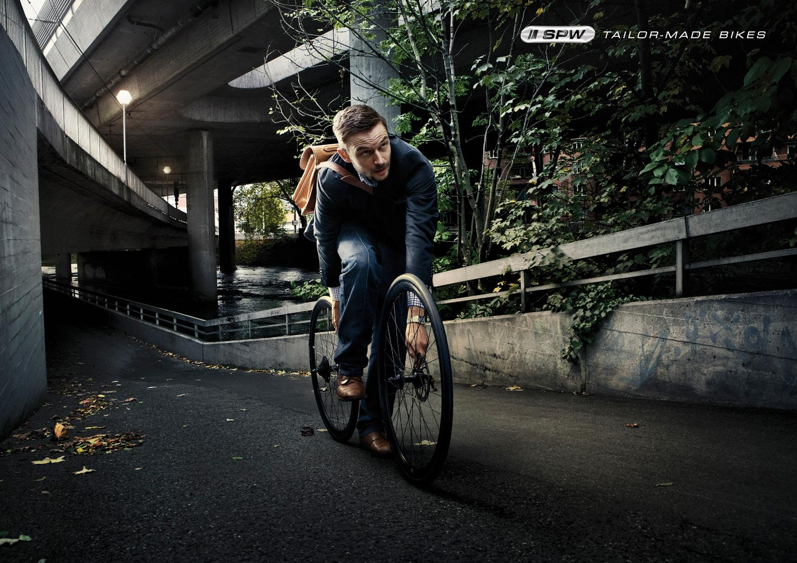 SPW Print Ad -  Tailor-made bikes, Citybike