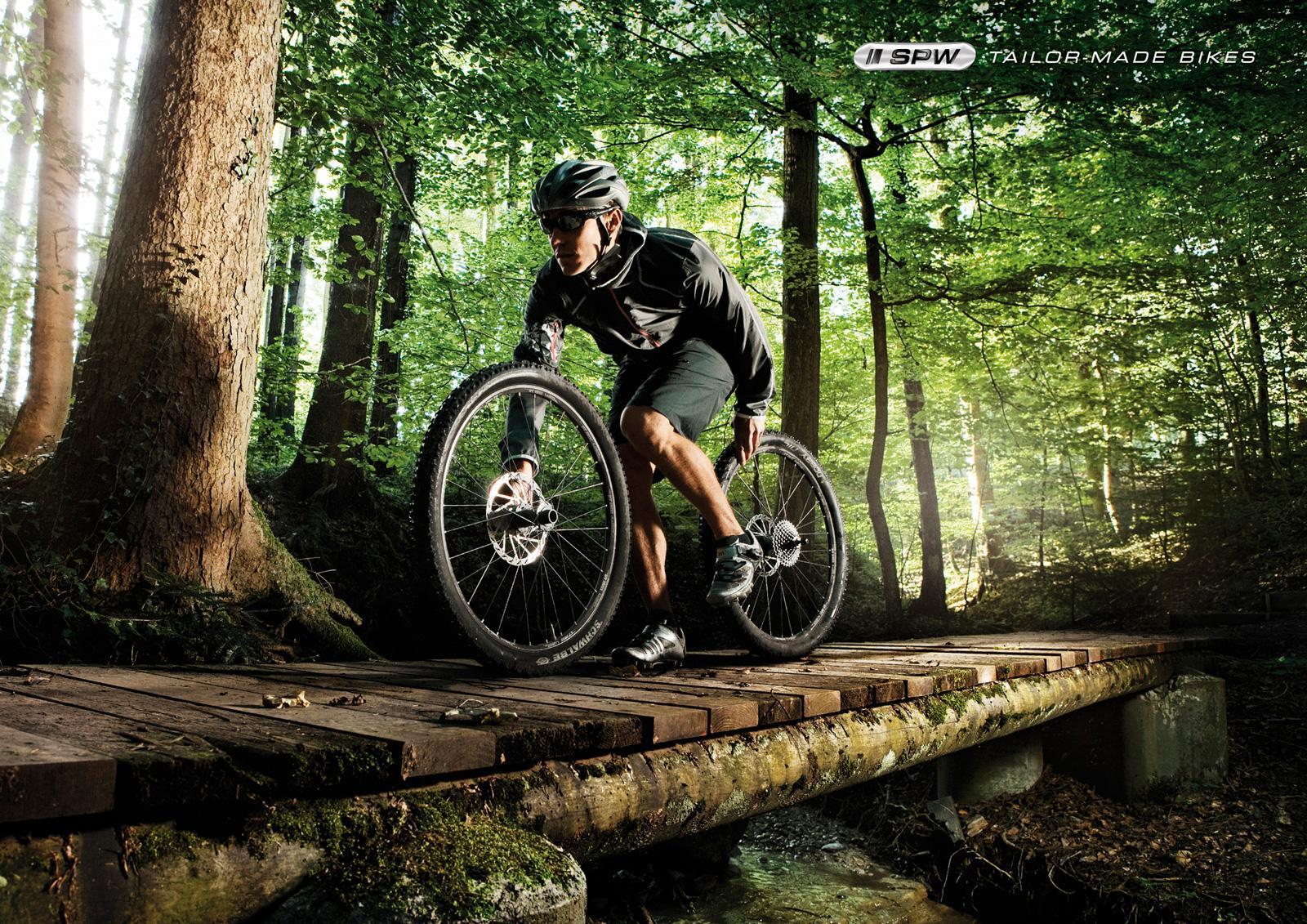 SPW Print Ad -  Tailor-made bikes, Mountainbike