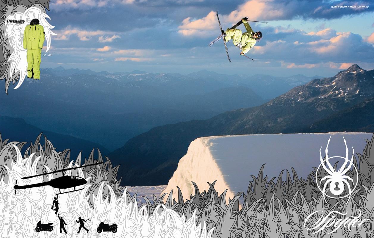 Spyder Print Ad -  Getaway