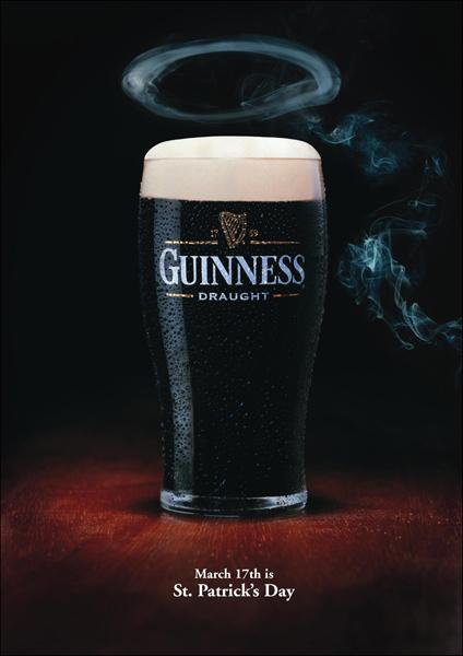 Guinness Print Ad -  St. Patrick's day