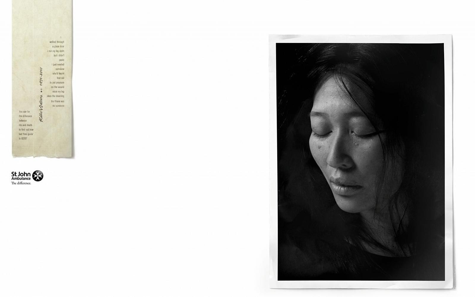 St John Print Ad -  Keiko