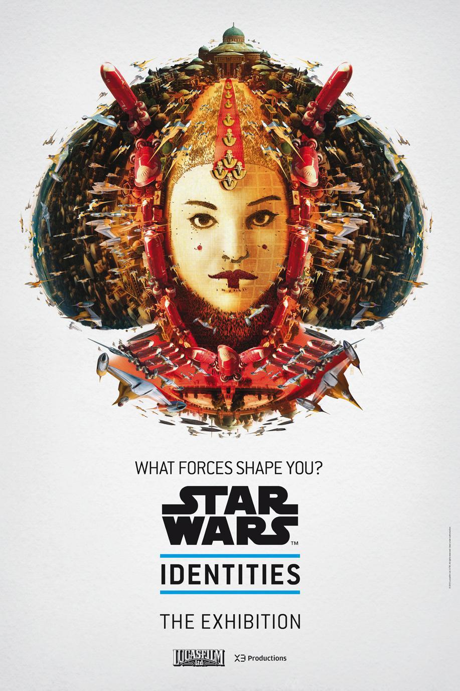 Star Wars Outdoor Ad -  The Exhibition, Amidala
