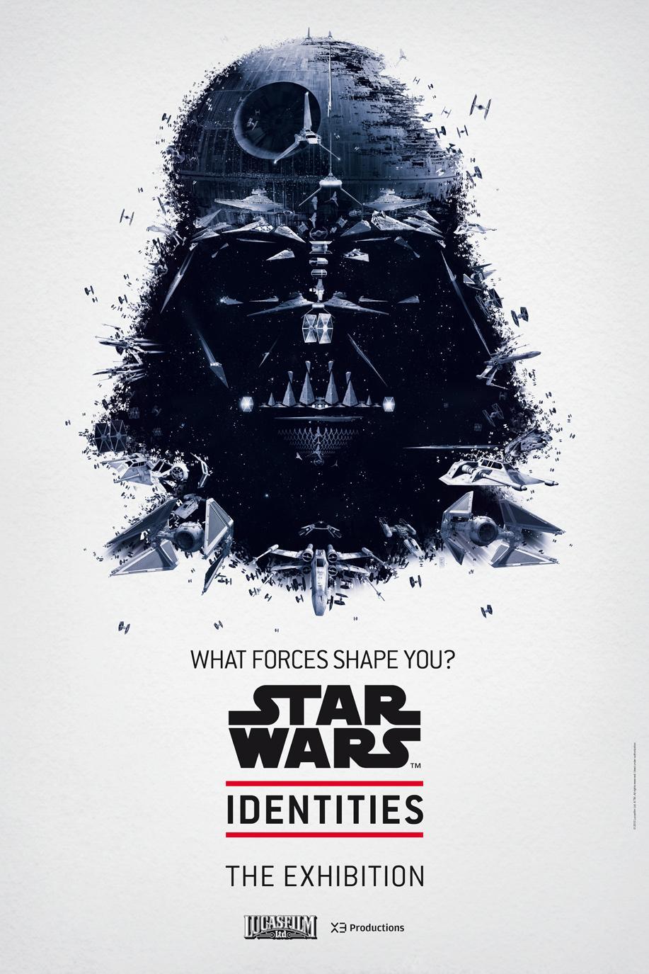 Star Wars Outdoor Ad -  The Exhibition, Darth Vader