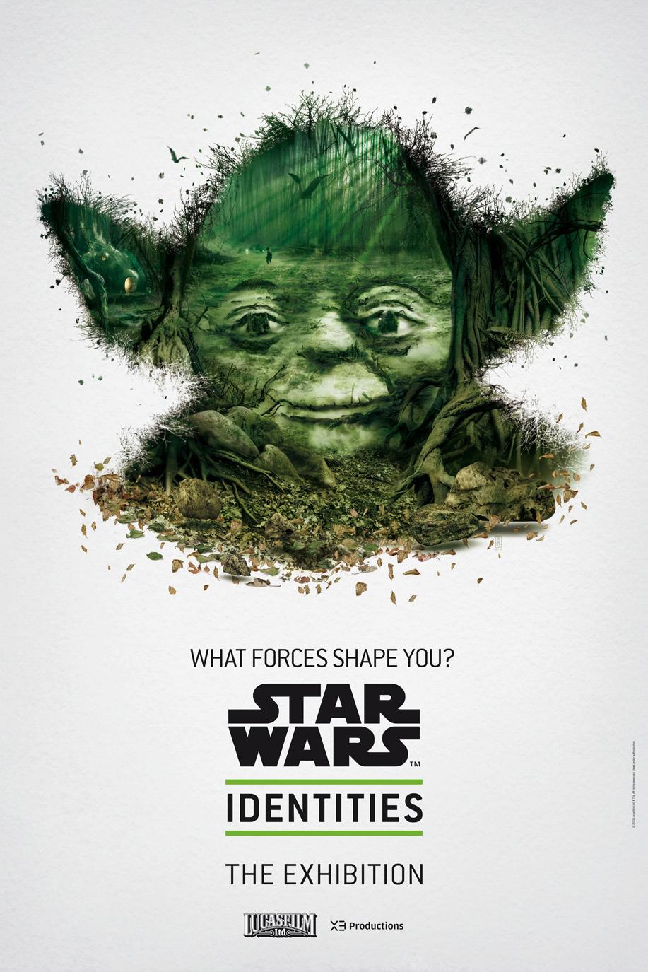 Star Wars Outdoor Ad -  The Exhibition, Yoda