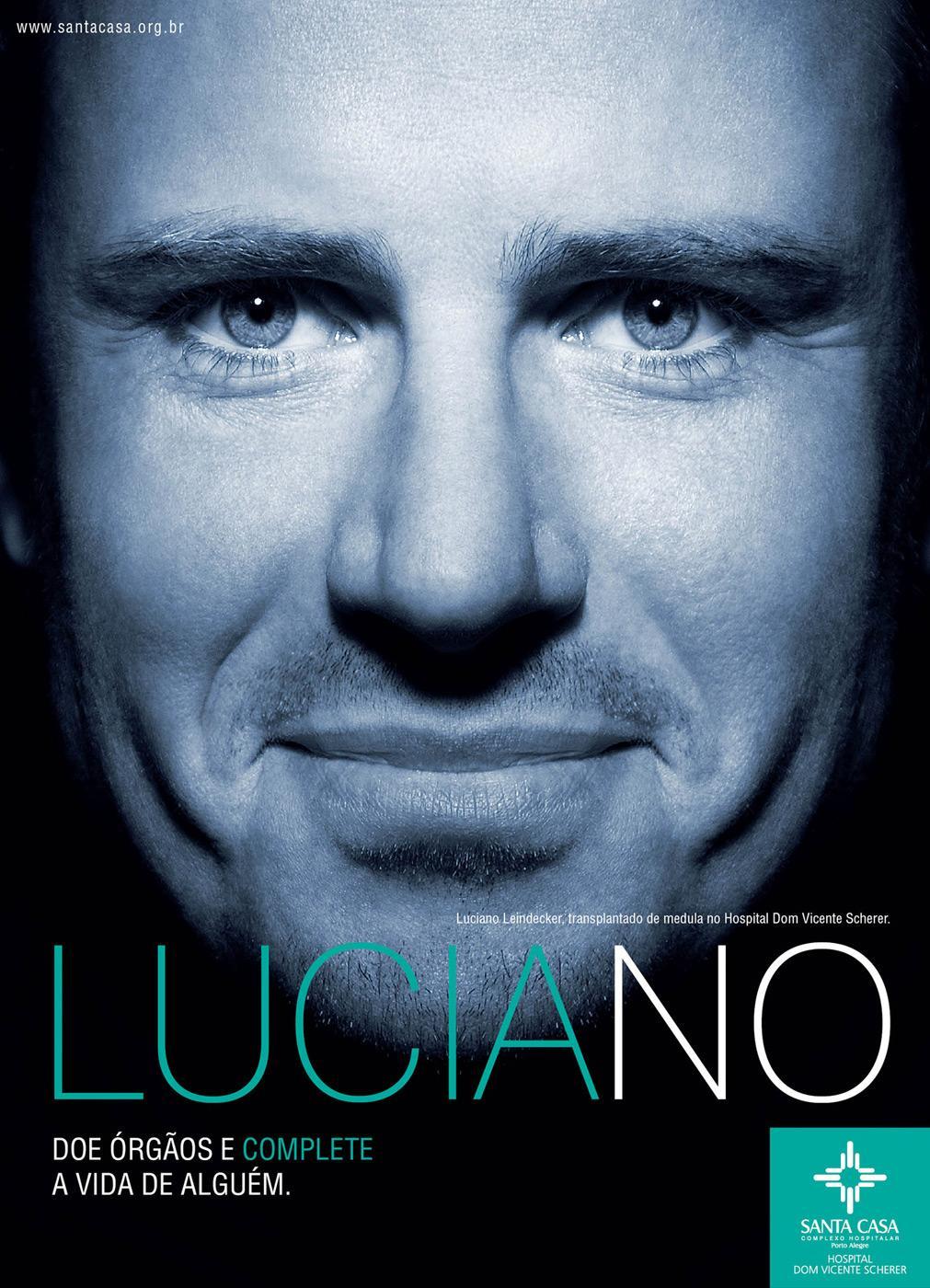 Santa Casa Print Ad -  Luciano