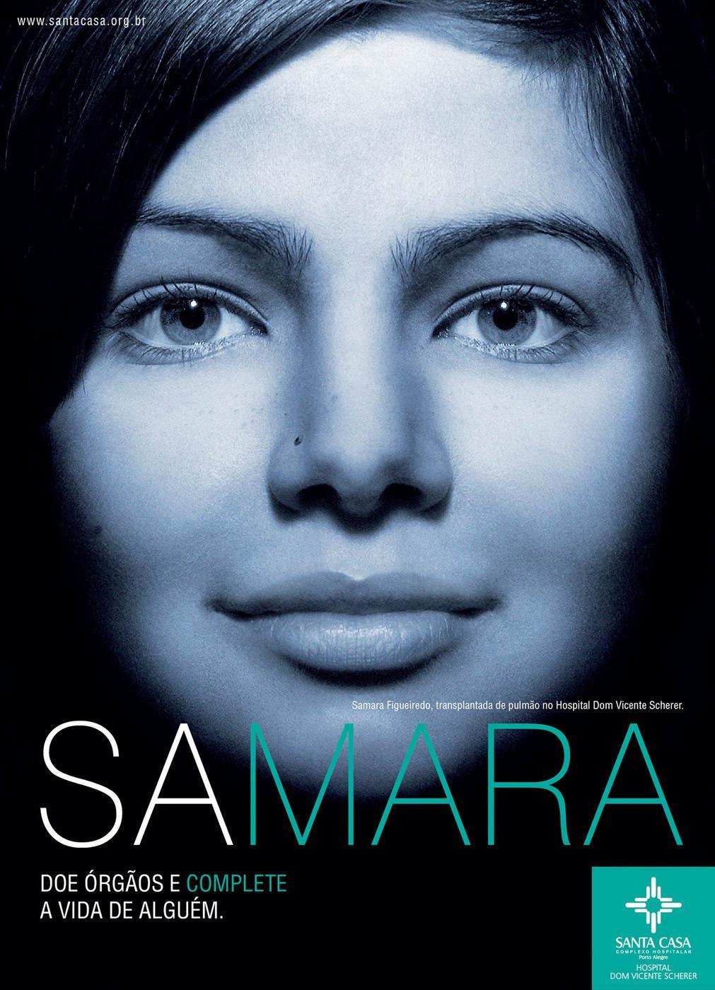 Santa Casa Print Ad -  Samara