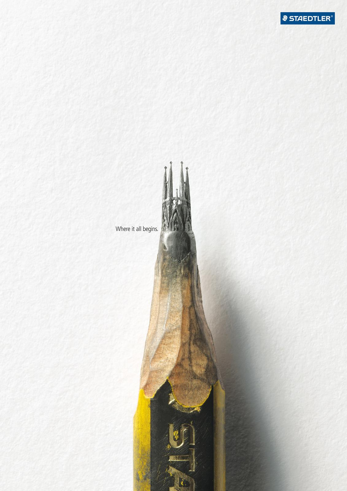 Staedtler Print Ad -  Church