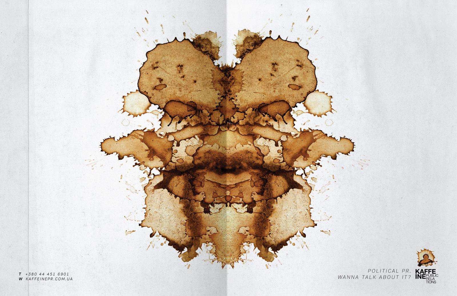 Kaffeine Print Ad -  Politics