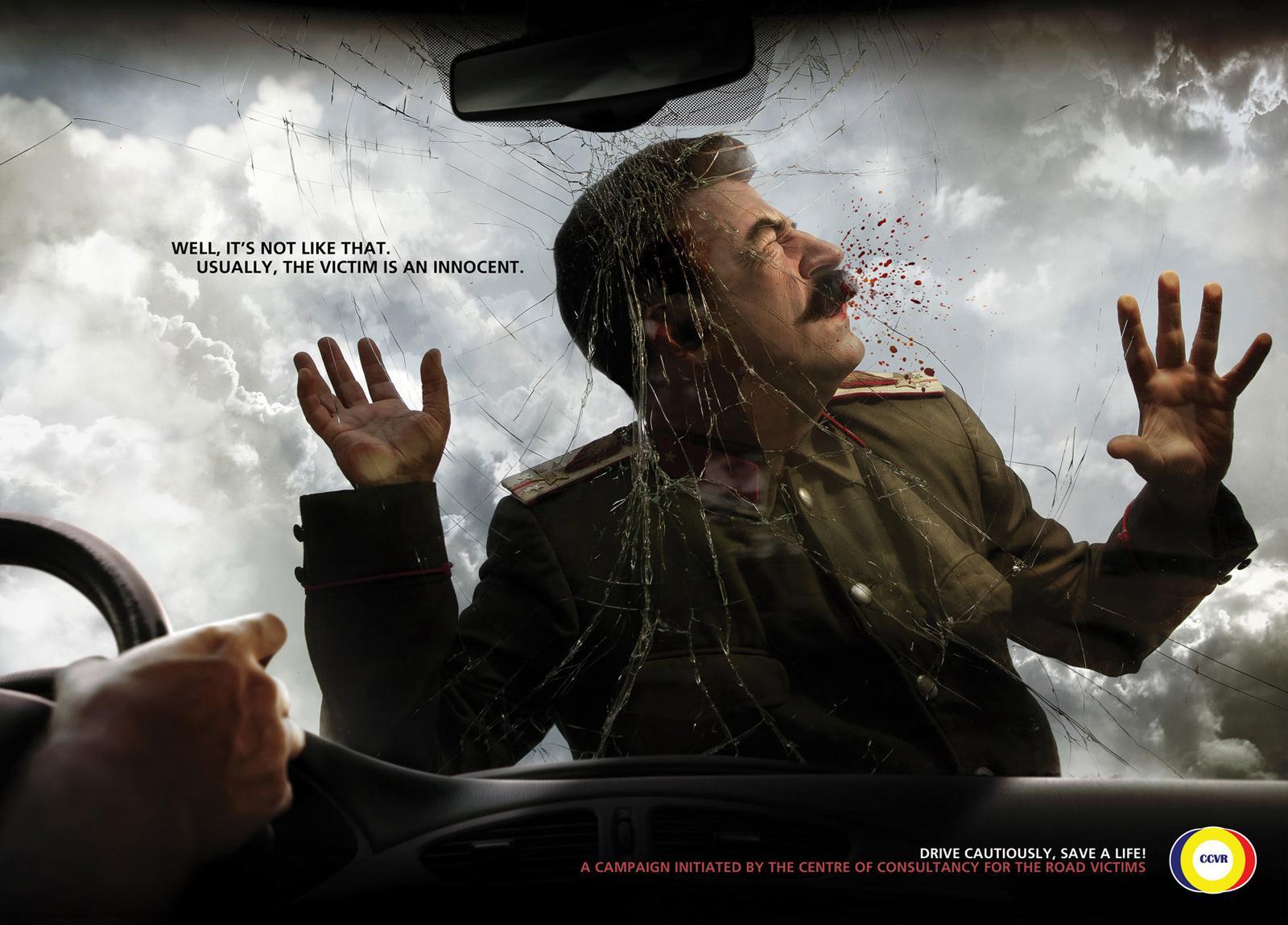 CCVR Print Ad -  Road Stalin