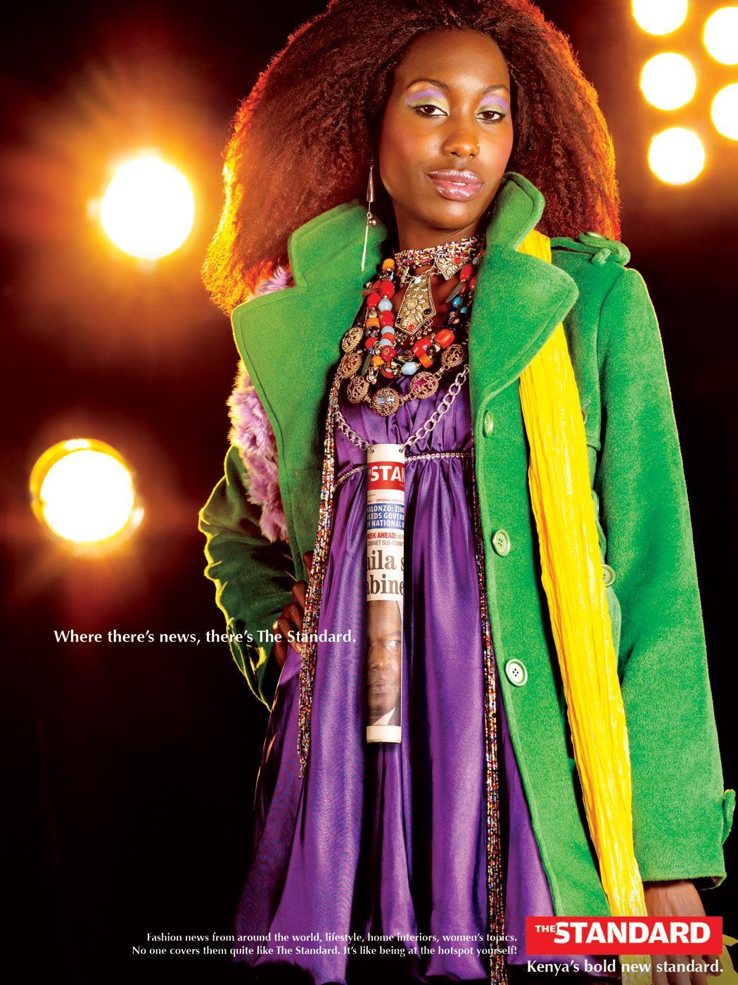 The Standard Print Ad -  Fashion