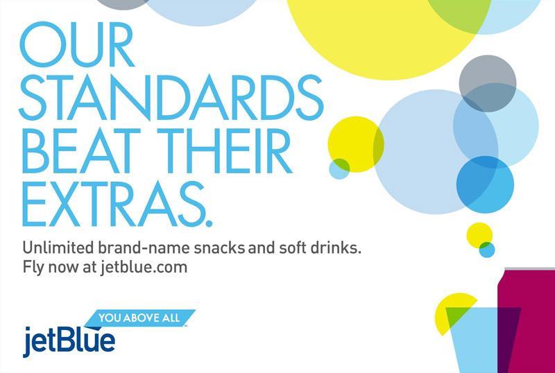 JetBlue Print Ad -  Standards