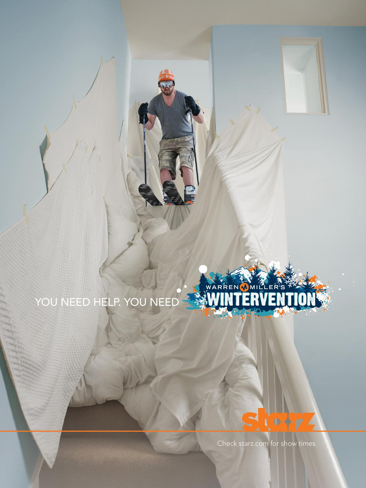 Starz Print Ad -  Wintervention