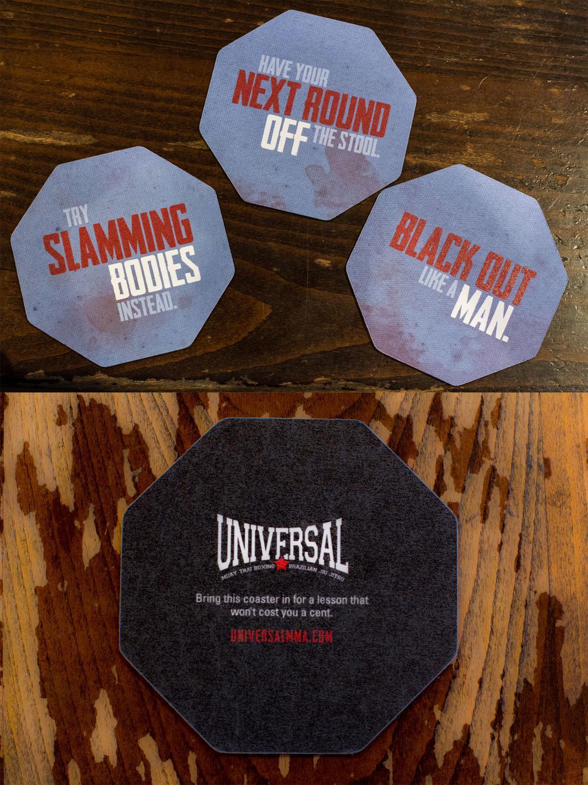 MMA Direct Ad -  Coaster