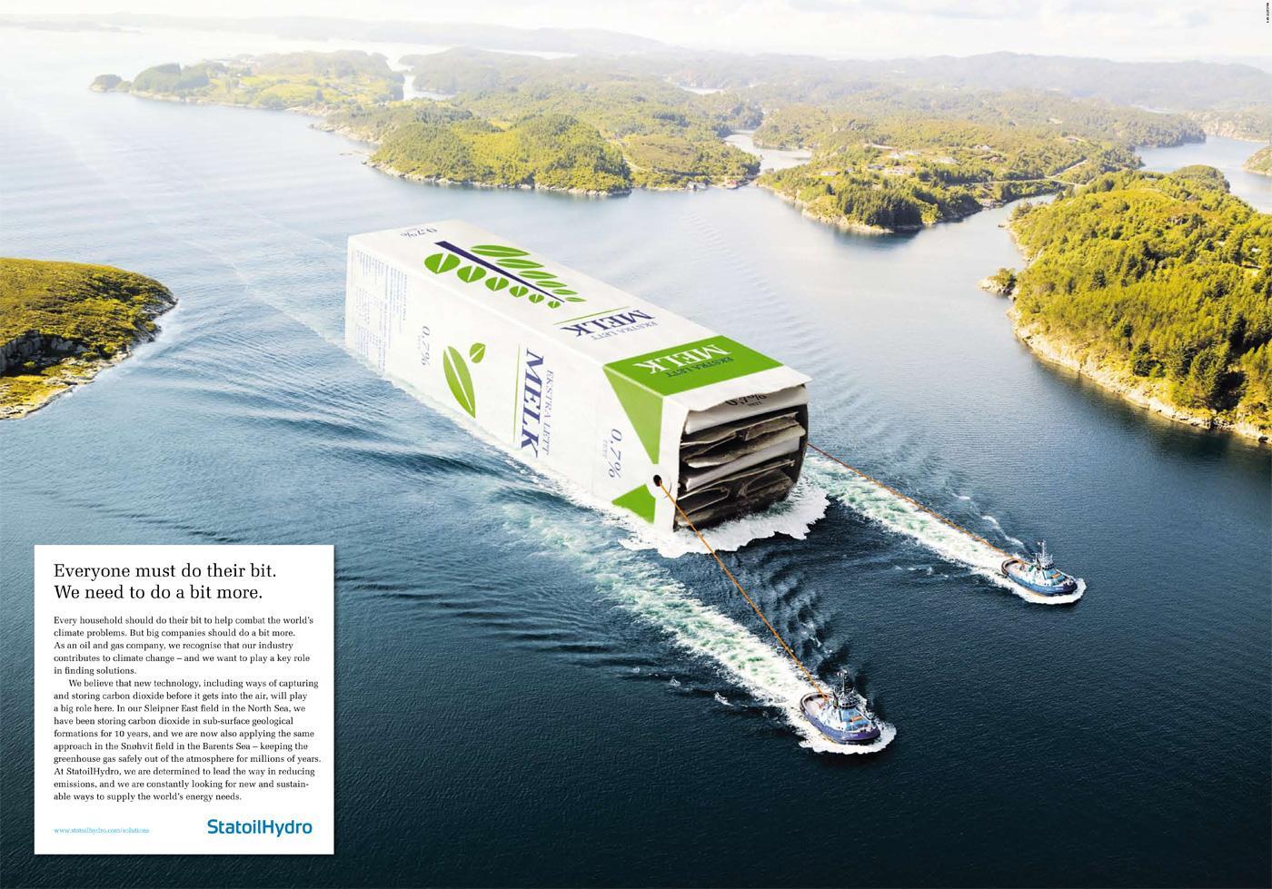 StatoilHydro Print Ad -  Ships