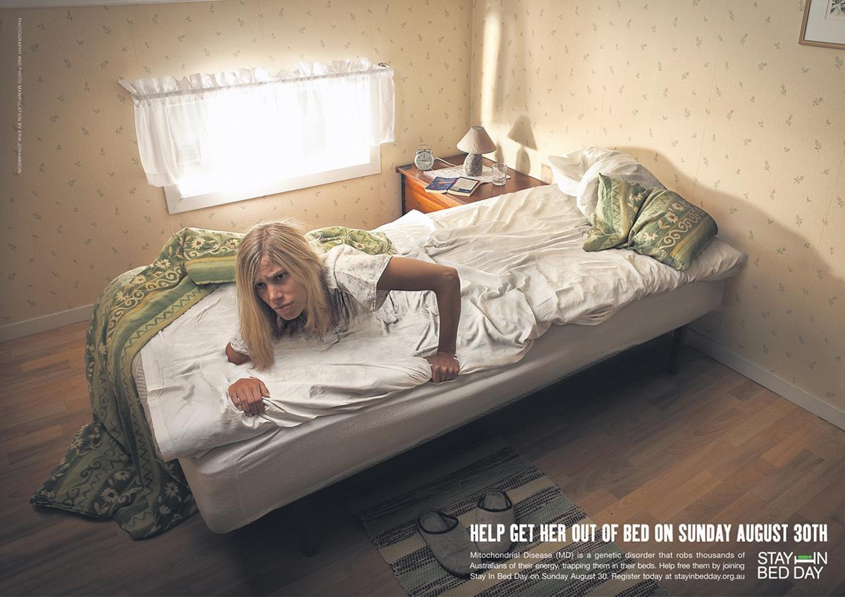 AMDF Print Ad -  Bed