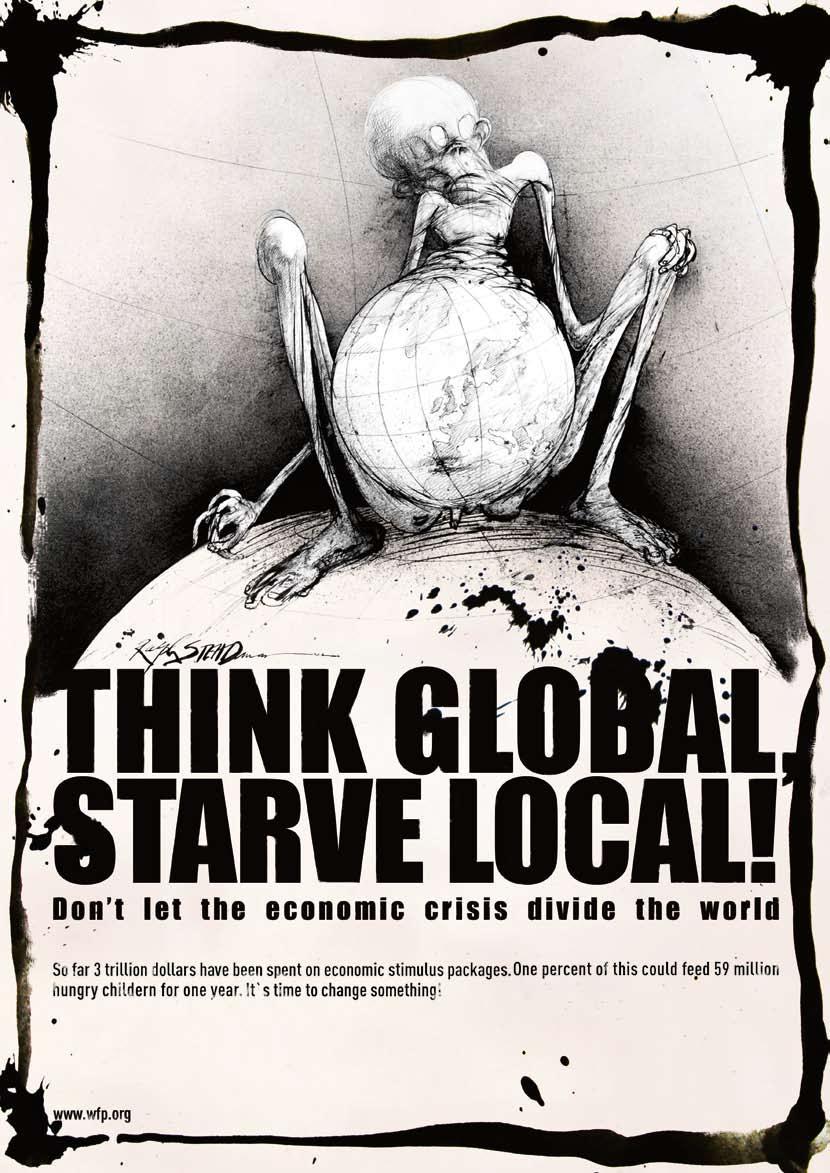 World Food Programme Print Ad -  Child
