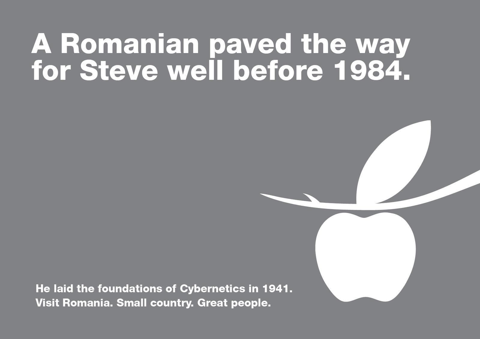 Romania Print Ad -  Stefan Odobleja