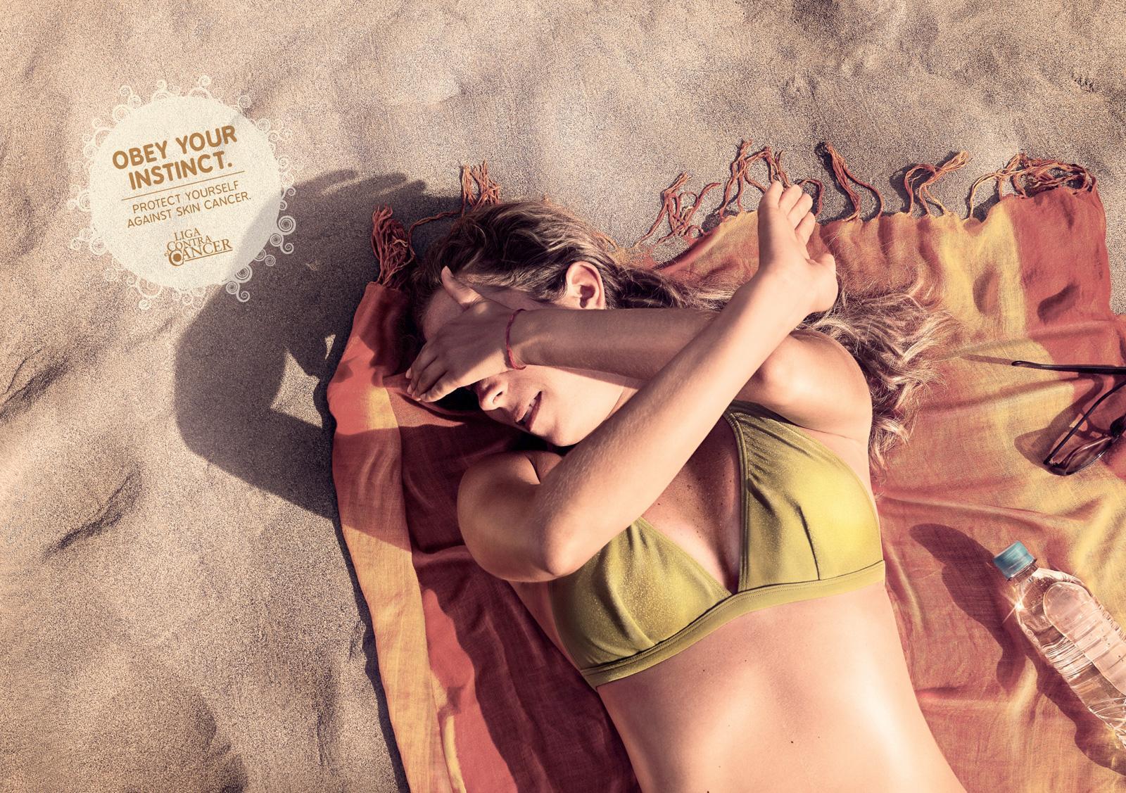 Liga Contra el Cancer Print Ad -  Stephanie