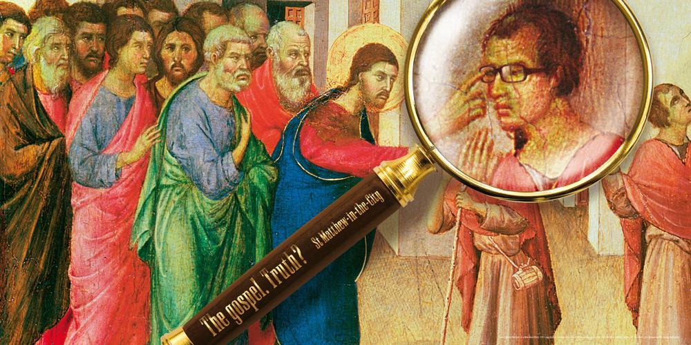 St Matthew-in-the-City Print Ad -  Glasses