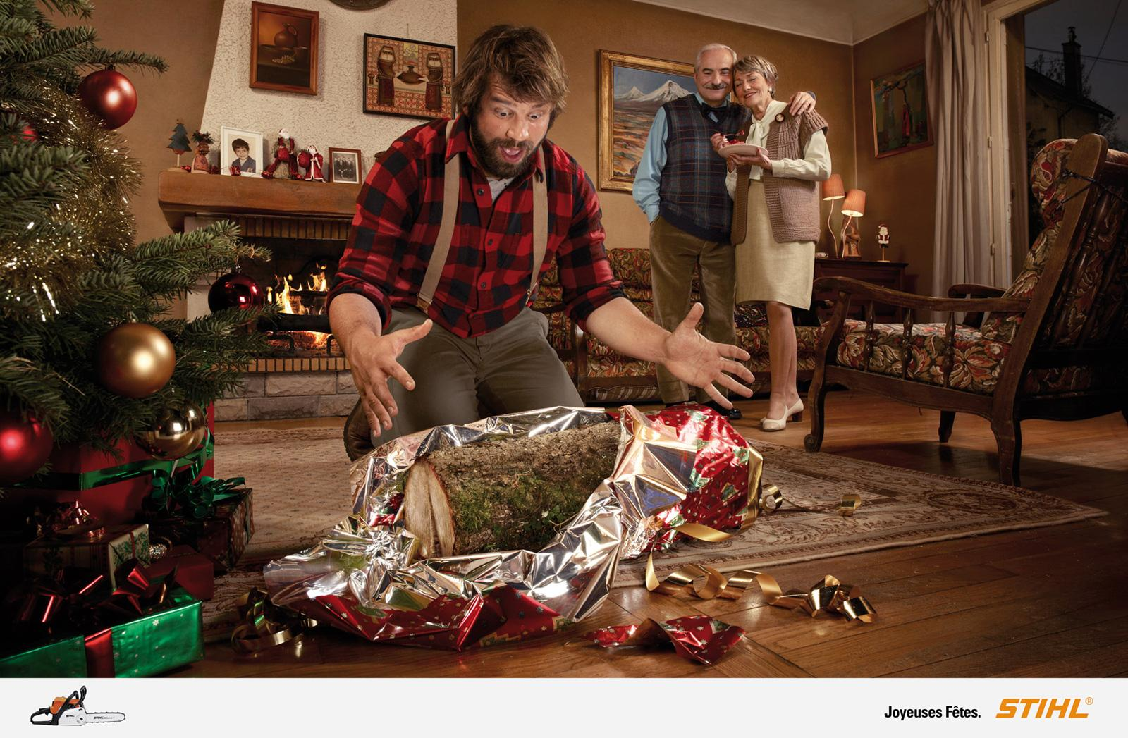 Stihl Print Ad -  Happy Christmas