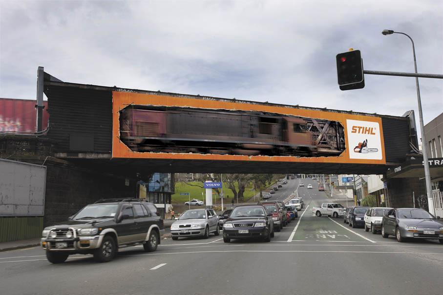 Stihl Ambient Ad -  Train