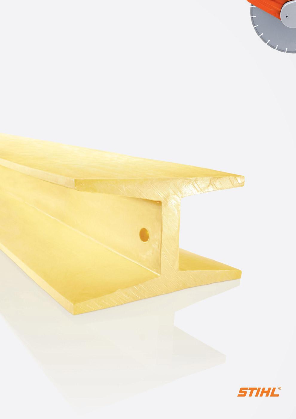 Stihl Print Ad -  Butter, 1